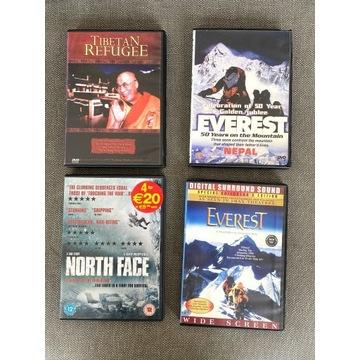 Zestaw - Filmy o Himalajach, górach, Tybecie