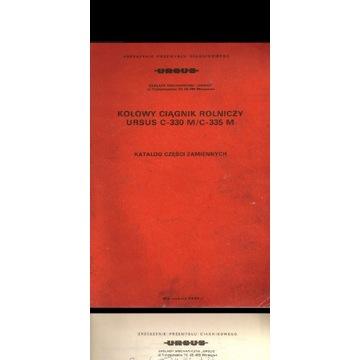 KATALOG CZĘŚCI URSUS C-330M C-335 PDF