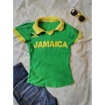 Koszulka polo damskie Jamaica Jamajka XS