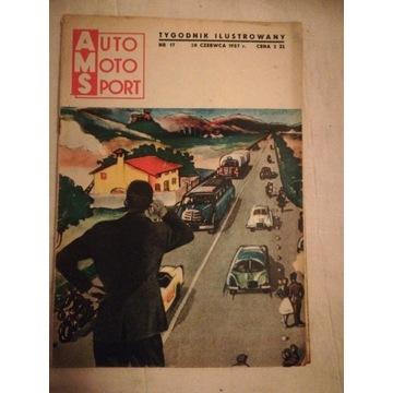 Auto Moto Sport czerwiec 1957