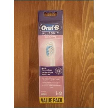 Oral-B Pulsonic Sensitive końcówki 4 sztuki