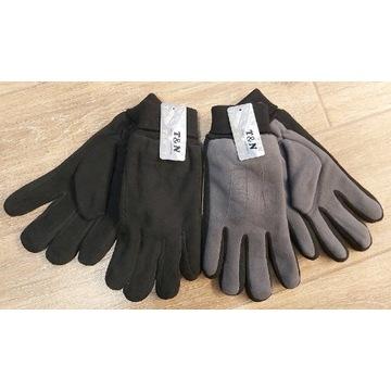 Męskie rękawiczki polarowe