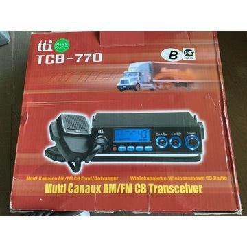 CB radio tti TCB-770 z anteną President