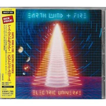 EARTH WIND & FIRE - Electric Universe CD JAPAN OBI