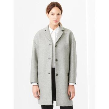 Gap__Jasny jesienny płaszcz w roz.34-36  oversize