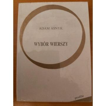 Adam Asnyk - wybór wierszy