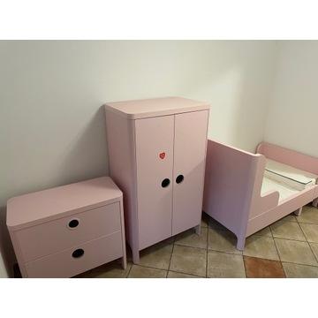 Meble pokój dziecięcy IKEA BUSUNGE łóżko , komoda