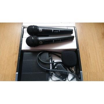 Mikrofony bezprzewodowe AKG WMS 40 PRO MINI 2