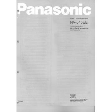 instrukcja Panasonic NV-J45EE po polsku