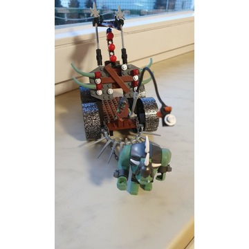 Lego Castle Wagon szturmowy trolli 7038