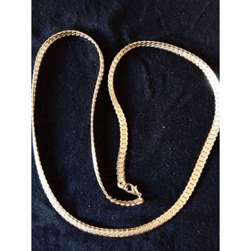 Łańcuszek gruby - imitacja złota.