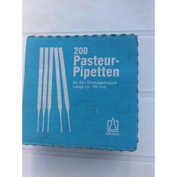 Pipeta Pasteura szklana 150mm 200szt.