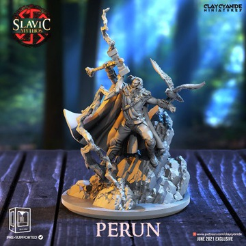 Perun – słowiańskie bóstwo gromowładne