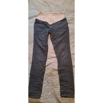Spodnie jeansowe ciażowe 40, grubszy jeans