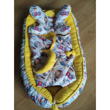 Kokon niemowlęcy + Rożek + Poduszka + GRATISY!