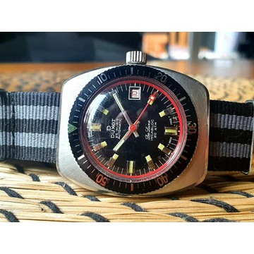 Zegarek Duxot - diver vintage - unikat