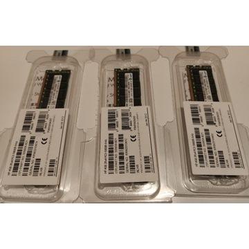 Pamięć 12GB DDR3, HP 3x4GB 2Rx4 PC3-10600R-9 Kit