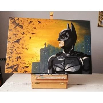 Obraz olejny Batman dark knight
