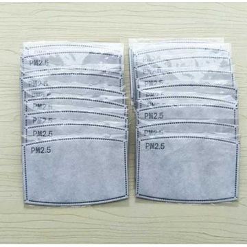 Filtr do maski PM2.5 SMOG FFP KN95 20szt z węglem