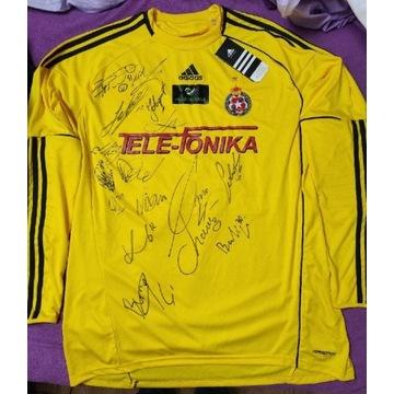 Koszulka Wisła Kraków Jovanic z podpisami, nowa