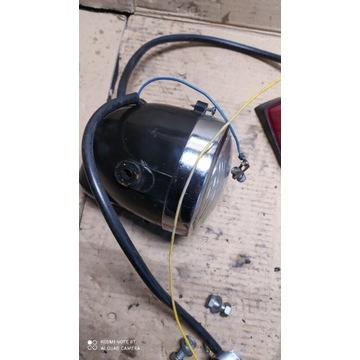 Lampa romet ogar kadet motorynka instalacja.