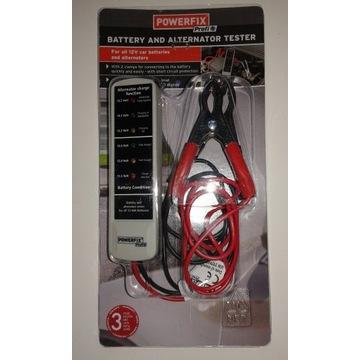 Tester do akumulatorów prądnic alternatora ładowan
