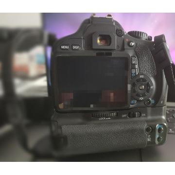 Canon 550d +grip