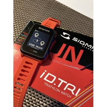 Zegarek Sigma iD. Tri, GPS, triatlonowy sportowy