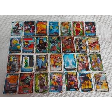 Lego Ninjago   KARTY , NAKLEJKI , LUDZIKI