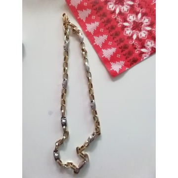 Złoty łańcuszek  styl Versace