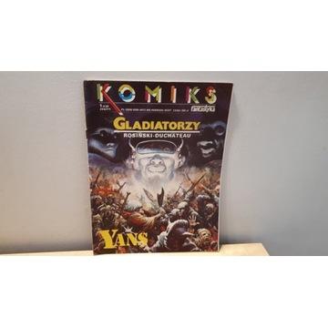 KOMIKS Yans Gladiatorzy