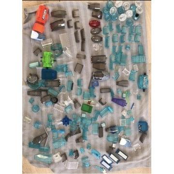 Lego elementy mix transparentne szyba star wars kg