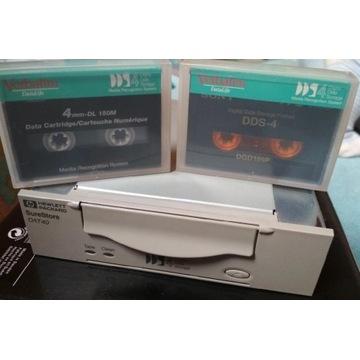 HP STREAMER DDS4 kontroler SCSI kabel kasety