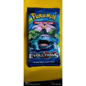 Orginalny booster Pokemon X&Y Evolutions
