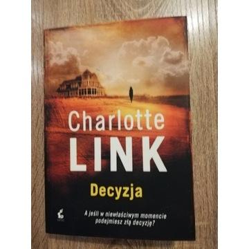 Książka Charlotte Link Decyzja