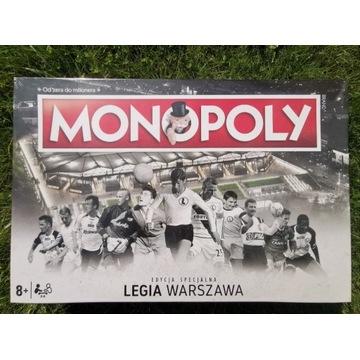 Monopoly Legia Warszawa limitowana edycja W-Wa
