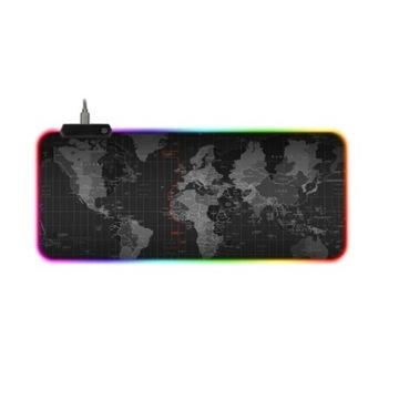 PODKŁADKA POD MYSZ GAMINGOWA PODŚWIETLANA LED RGB