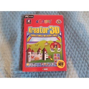 """Gra PC """"Kreator 3D zbuduj swój własny świat"""""""