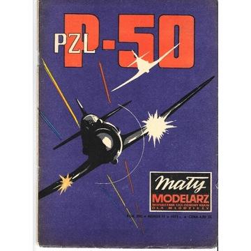 Mały modelarz 11 1973 PZL P.50 JASTRZĄB oryginał
