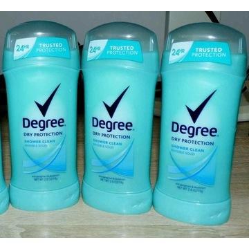 DEZO W SZTYFCIE DEGREE 74g SHOWER CLEAN USA