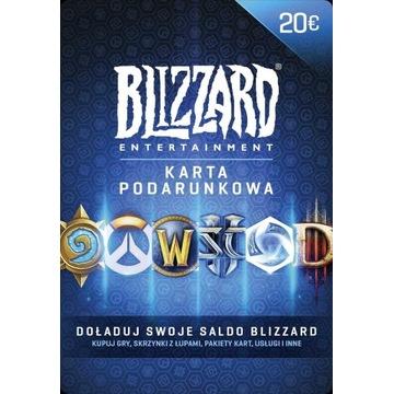 Kod Blizzard 20 EUR