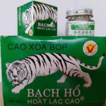 Biały tygrys oryginalna maść wietnamska