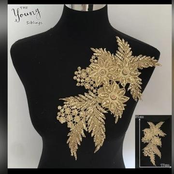 Naszywka kwiaty 3d na ubrania odzież