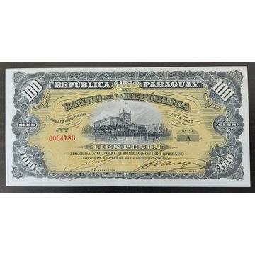 Paragwaj 100 Pesos  - 1907 r