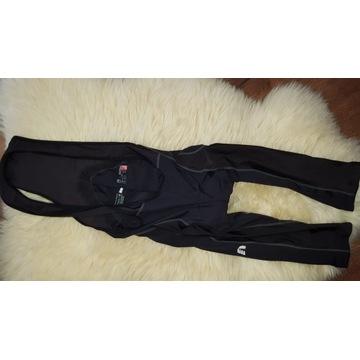 Czarne spodnie na rower NEWLINE M wkładka JCRAFT