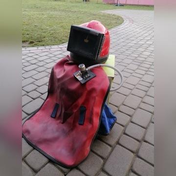 Helm do piaskowania