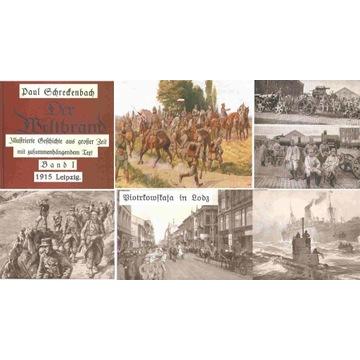 I-WOJNA ŚWIATOWA - WELTBRAND - DUŻY ALBUM - 1915