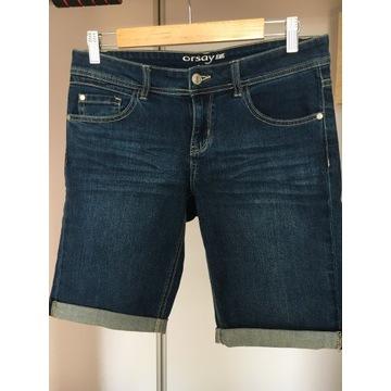 Jeansowe szorty bermudy