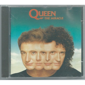 QUEEN - The Miracle - CD 1989 Europe