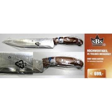Zestaw noży na grilla Nienmieckiej Firmy SBS